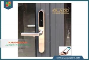 khóa cửa điện tử bluetooth