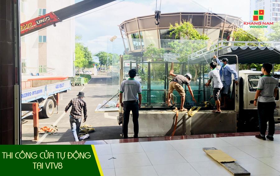 cửa tự động tại Bình Định