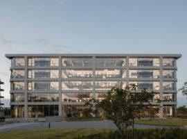 Kiến trúc nhà kính độc đáo của trụ sở công ty Danone – Hà Lan